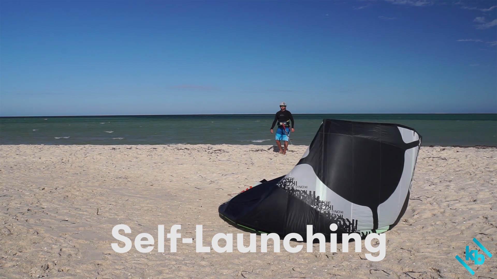 Kitesurfing Self-launching Kitesurfing Lessons Perth